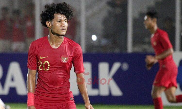 Bagus Kahfi Unjuk Ketajaman Laga Timnas Indonesia vs Timnas Tajikistan